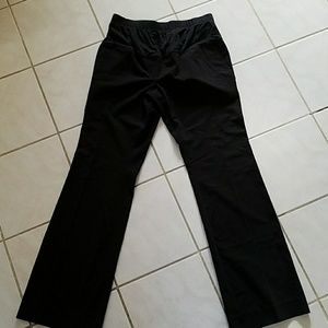 Black Maternity work pants.